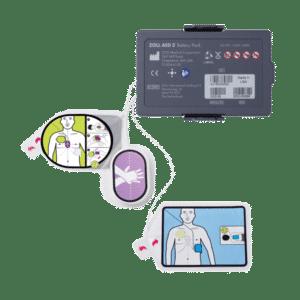 Pakettitarjous: ZOLL AED 3 paristo + Uni Padz elektrodi