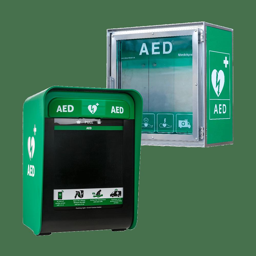 Mikä on defibrillaattorikaappi?