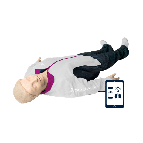 Laerdal Resusci Anne -elvytysnukke. Full body