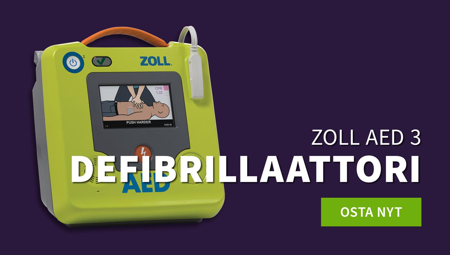 ZOLL AED 3 defibrillaattori
