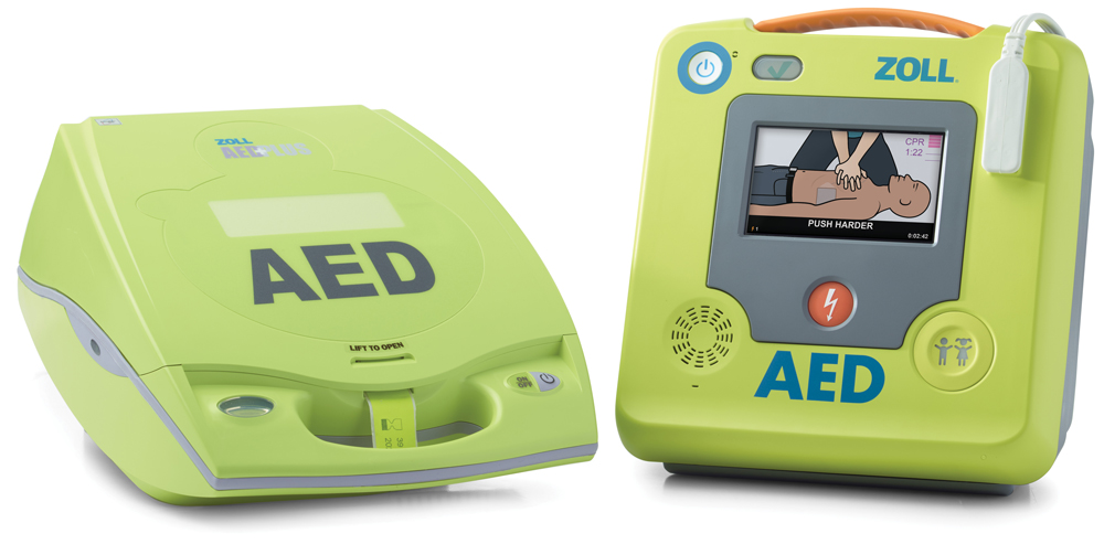 ZOLL AED Plus and ZOLL AED 3 -defibrillaatori
